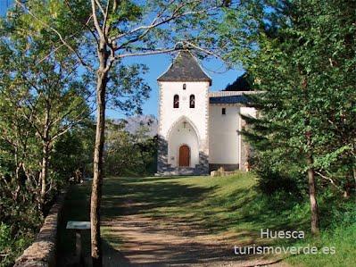 TURISMO VERDE HUESCA. Ermita de Santa Elena de Biescas.